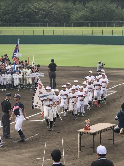 第44回 柏市少年野球 秋季大会 開会式開催